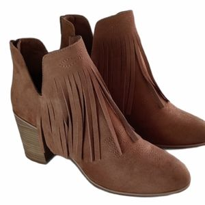 Ariat Unbridled ankle boots with fringes 9…